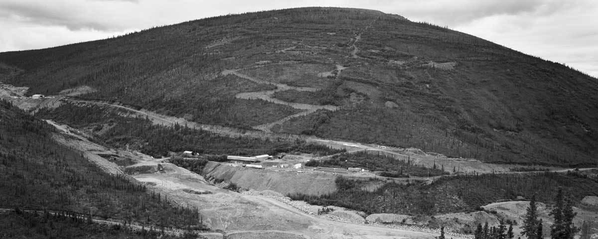 Bellekeno Mine, Sourdough Hill