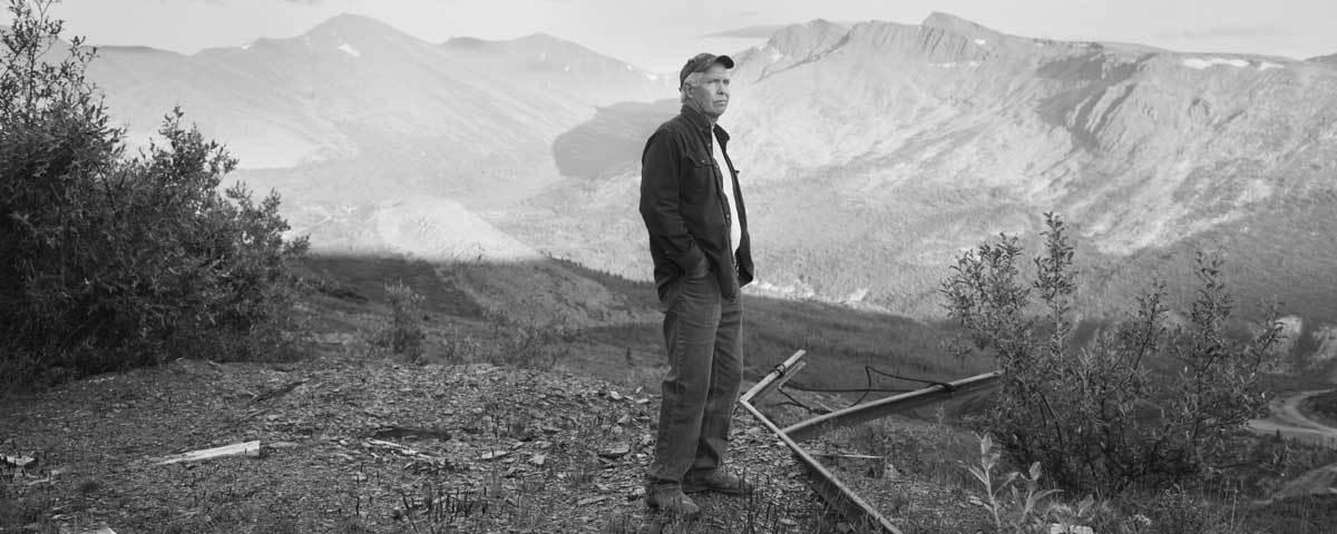Bob Wagner at Comstock mine, Keno Hill