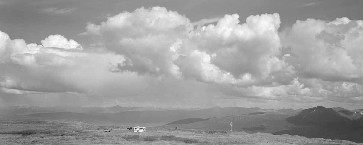 Signpost vista, Keno Hill