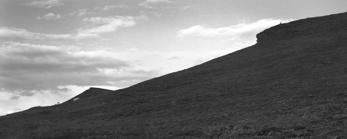 Silver Basin trail, Keno Hill