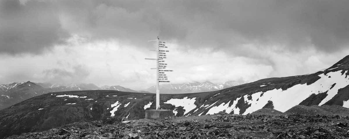 Signpost, Keno Hill