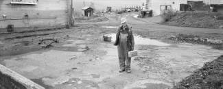 Bob Andison, Elsa townsite