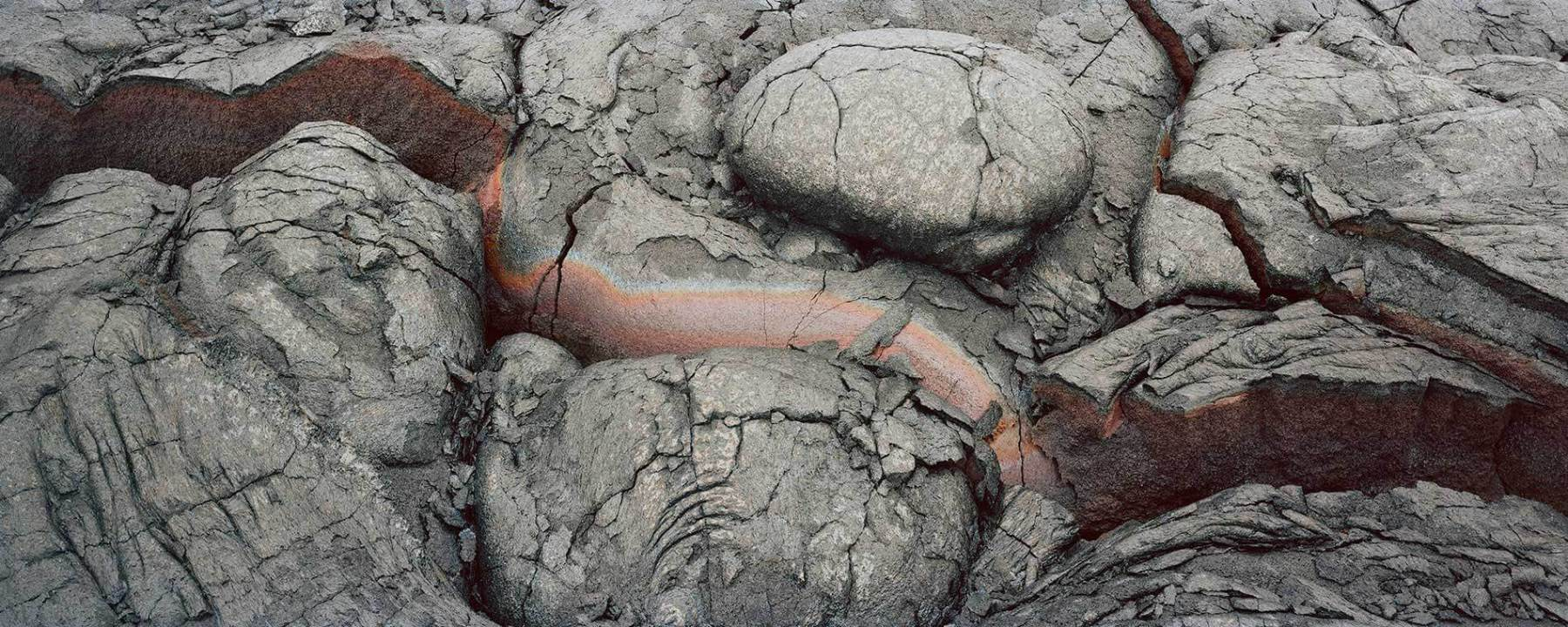 Pahoehoe Study #3 (Iron Stain),